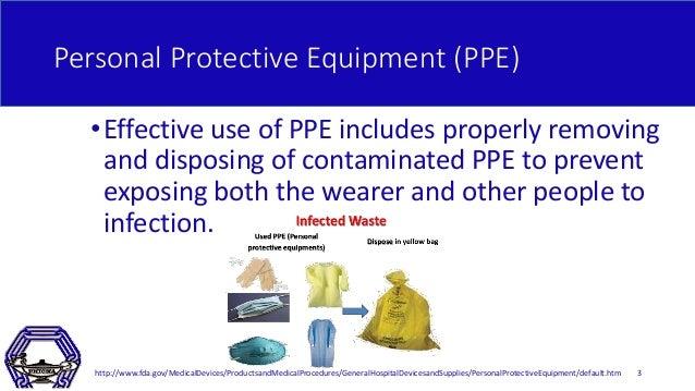 Proper Donning and Doffing of PPE Slide 3