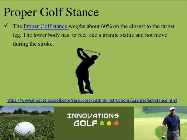 Perfect Golf Stance - Innovation Golf