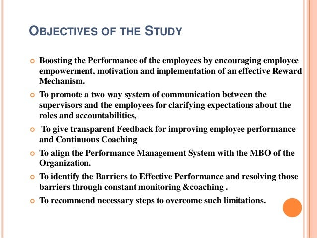purpose of performance management systems within an organization