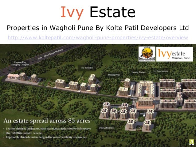 Ivy Estate Properties in Wagholi Pune By Kolte Patil Developers Ltd http://www.koltepatil.com/wagholi-pune-properties/ivy-...