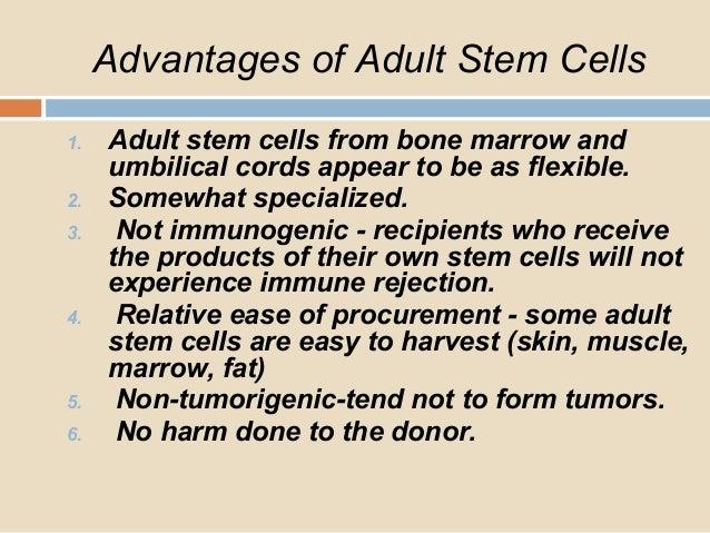 Adult Stem Cell Advantages 52