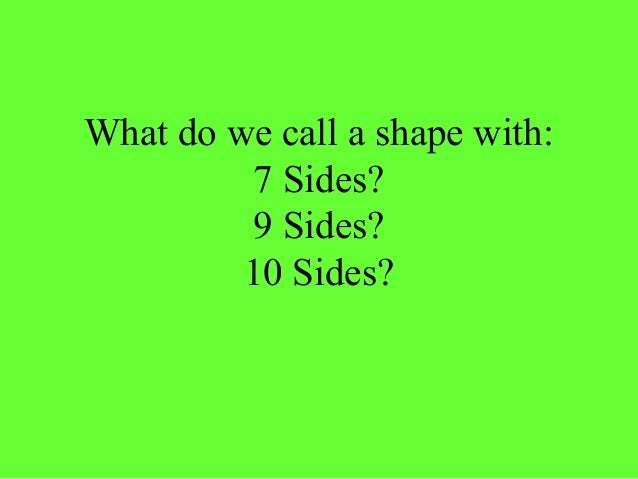 Properties of 2_d_3d_shapes