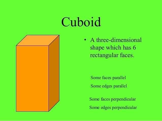 Three-Dimensional Shapes - CBSE Tuts