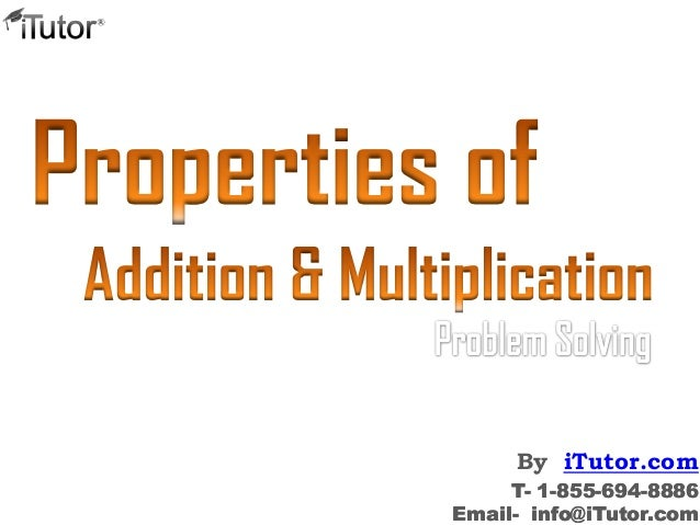 Properties of Addition Multiplication – Addition and Multiplication Properties Worksheet