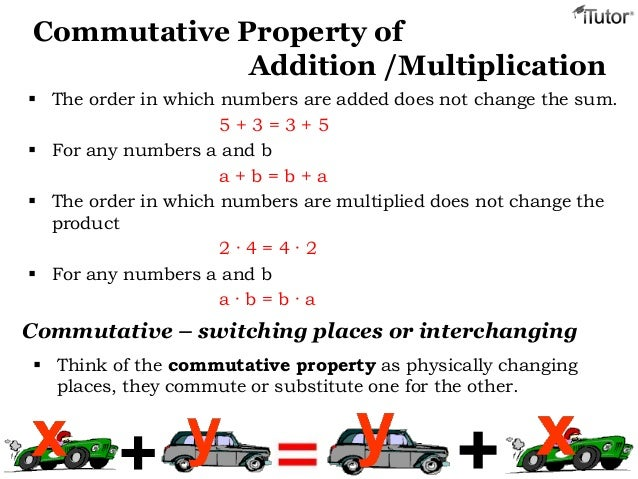 Properties Of Addition Multiplication