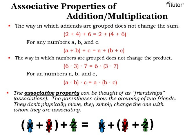 Worksheet 531384 Associative Property of Multiplication – Associative Property of Addition and Multiplication Worksheets
