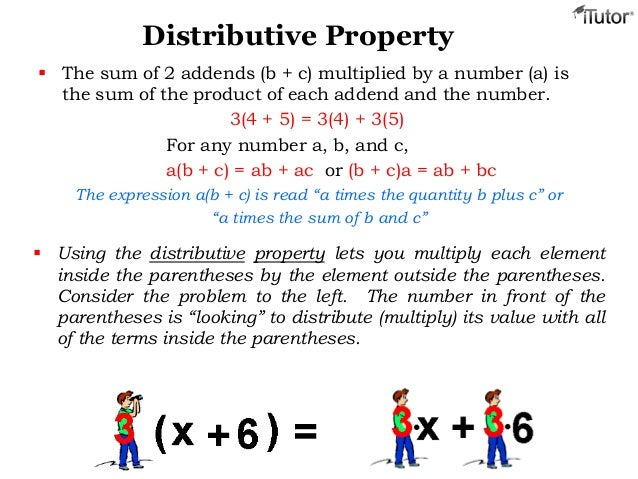 Properties of Addition Multiplication – Distributive Property of Multiplication Worksheets 6th Grade