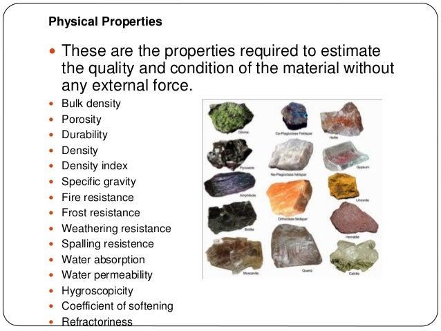 Properties of building materials part 2