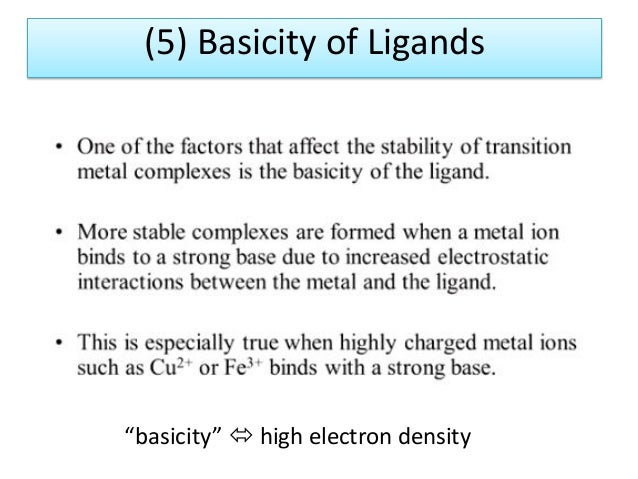 Properties of coordination compounds part 3 of 3