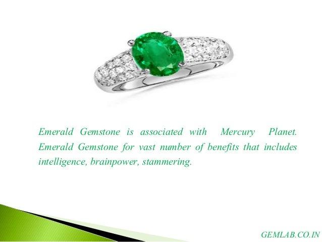 Emerald Gemstone Physical Properties