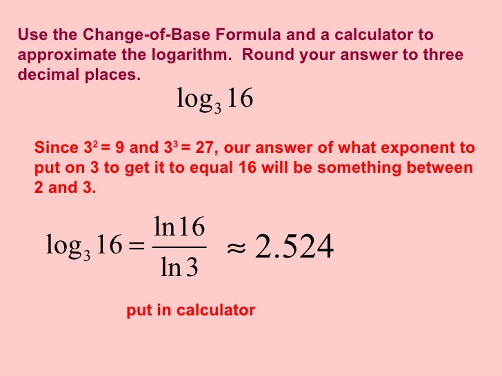 how to put log base 2 in calculator ti-83