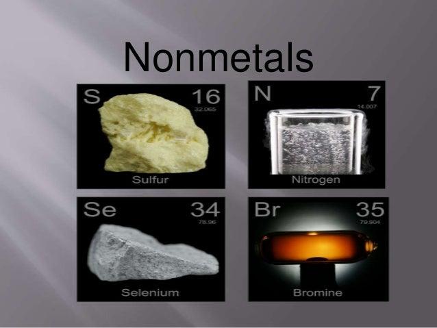 Chemical Properties Metals Non Metals