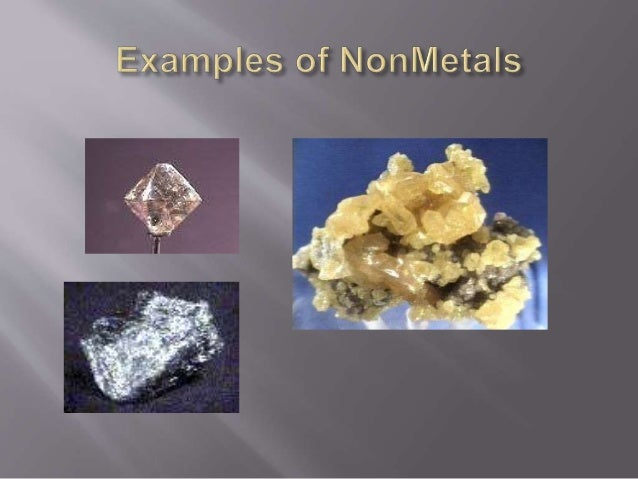 Nonmetals Can Be At Room Temperature