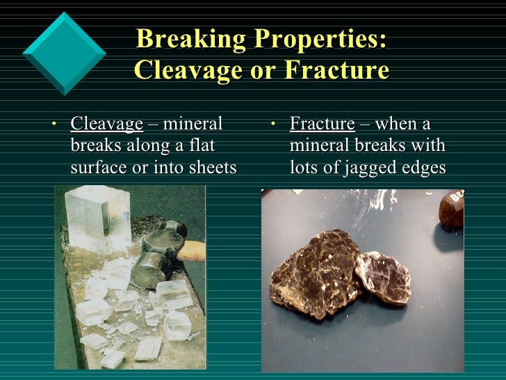 basic properties of minerals