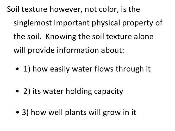 Properties of soils teach for 5 facts about soil