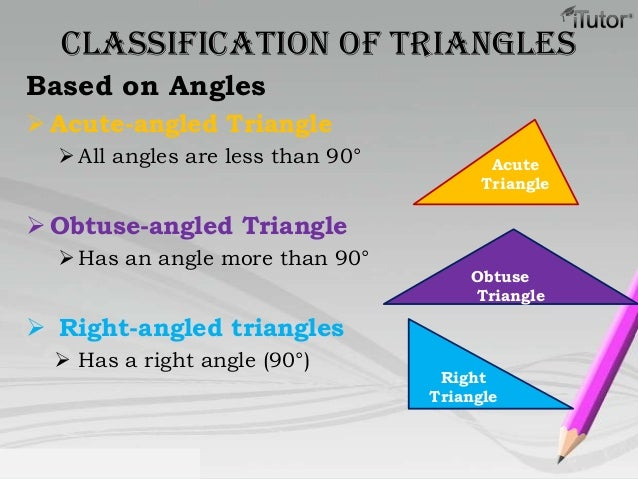 how to find the property of a triangle