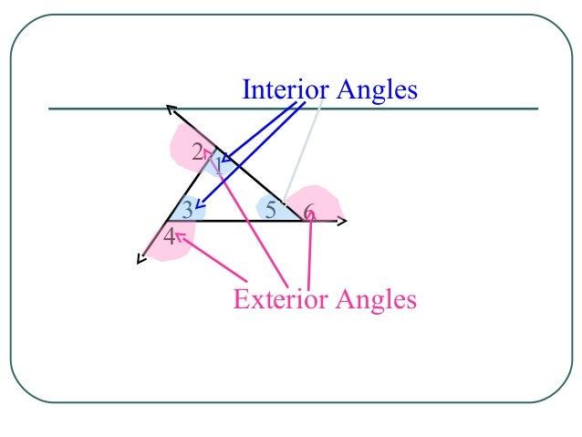 ... Interior Angles; 12.