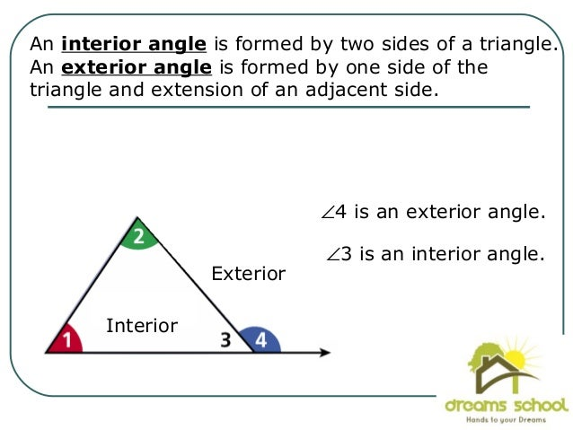 17. Each Exterior Angle Has Two Remote Interior ...