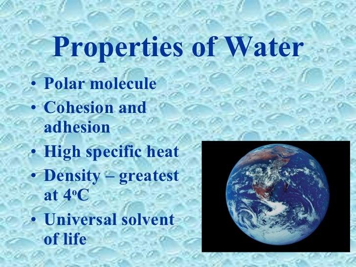 Freshwater Properties