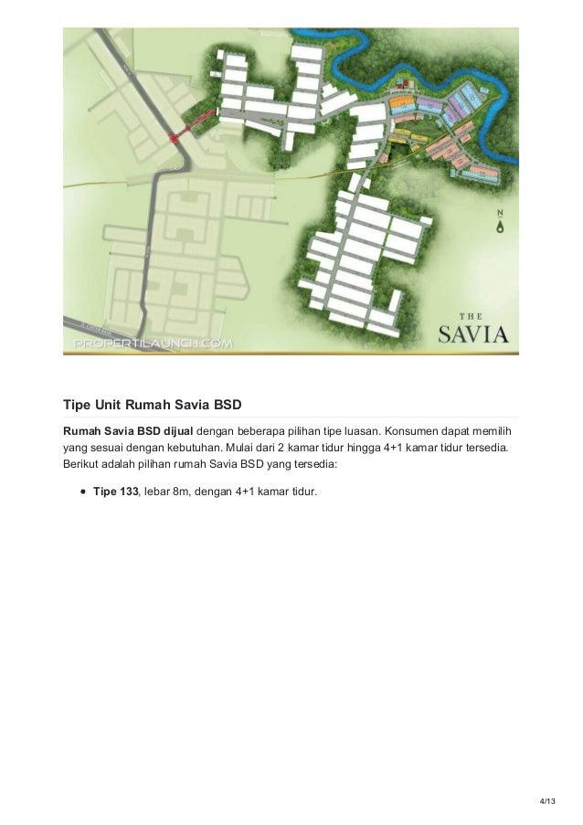 Rumah Dijual The Savia Bsd - Omong l