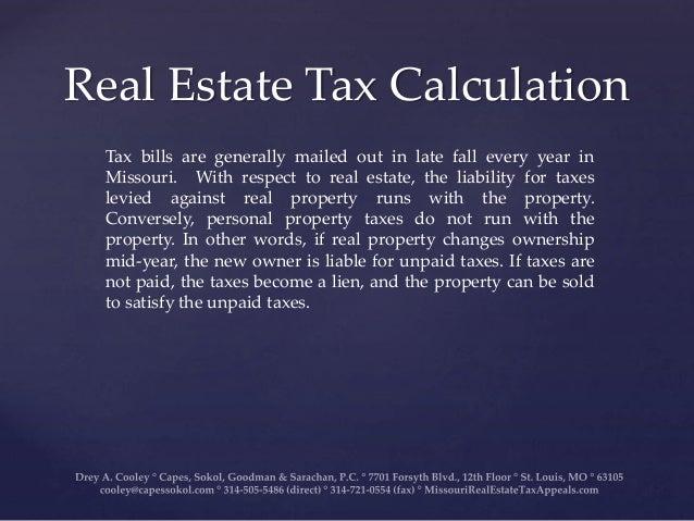 Personal Property Tax Office Missouri