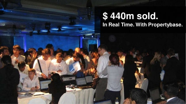 $ 440m sold.In Real Time. With Propertybase.