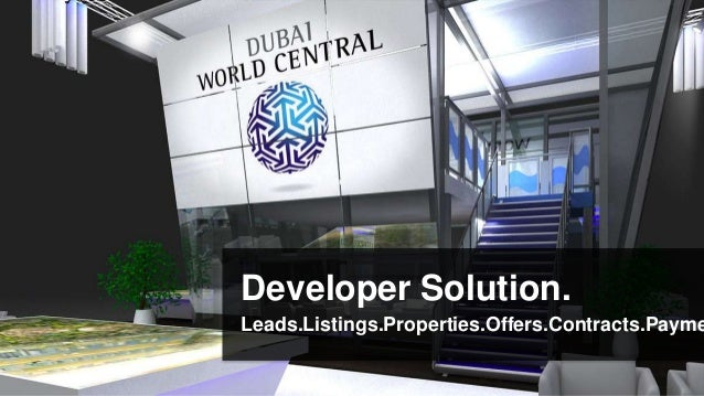 Developer Solution.Leads.Listings.Properties.Offers.Contracts.Payme