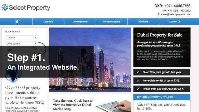 Step #1.An Integrated Website.