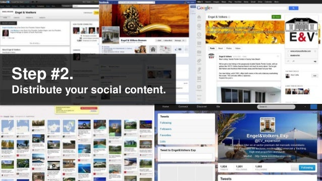 Step #2.Distribute your social content.