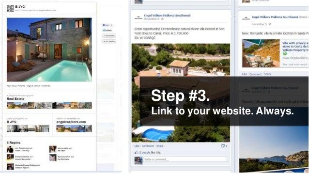 Step #3.Link to your website. Always.