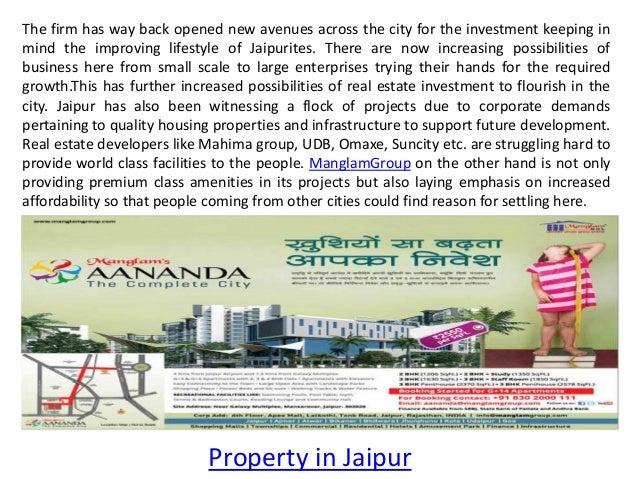 Residential Properties in Jaipur Slide 2