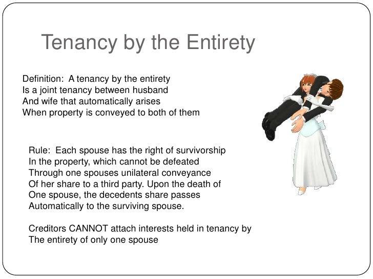 tenancy by the entirety illinois memo
