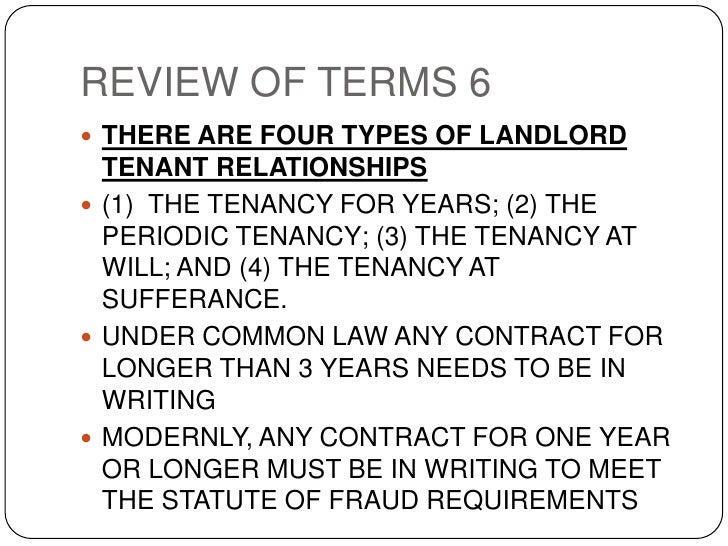 tenancy at sufferance relationship