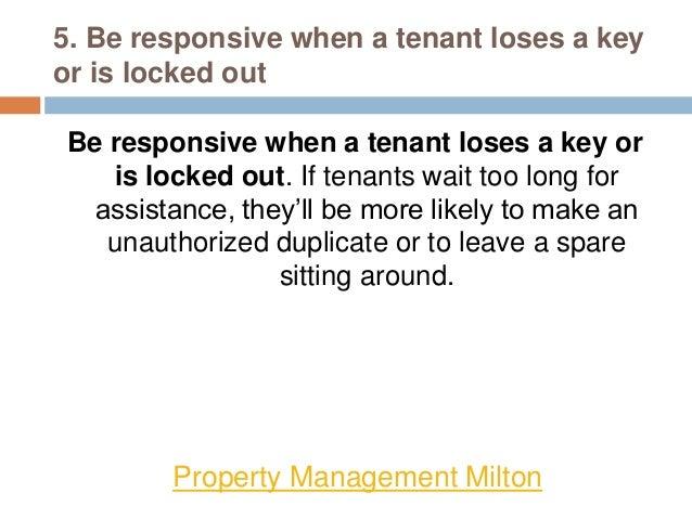 Property Management - 10 key tips about Keys