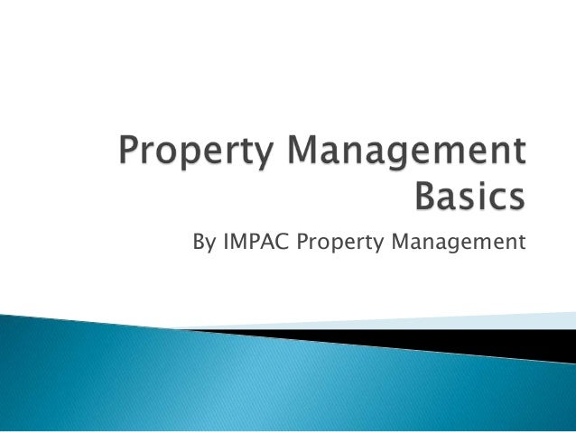 By IMPAC Property Management