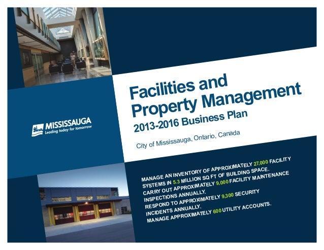 property management business pla 2013 2016