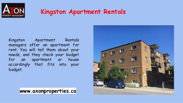 Kingston Apartment Rentals Kingston Apartment Rentals managers offer an apartment for rent. You will tell them about your ...