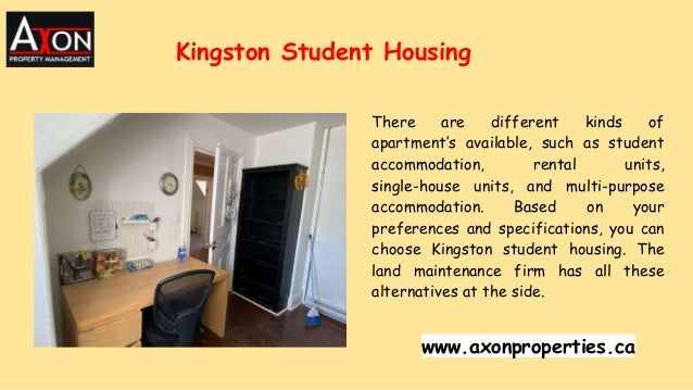 There are different kinds of apartment's available, such as student accommodation, rental units, single-house units, and m...