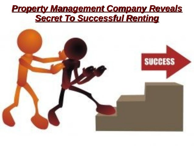 Property Management Company RevealsProperty Management Company Reveals Secret To Successful RentingSecret To Successful Re...