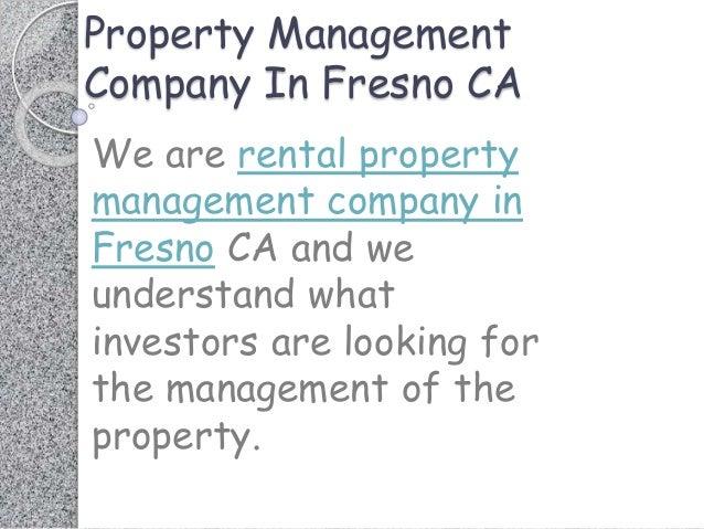 Real Property Management Fresno Ca