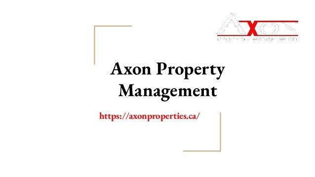 Axon Property Management https://axonproperties.ca/