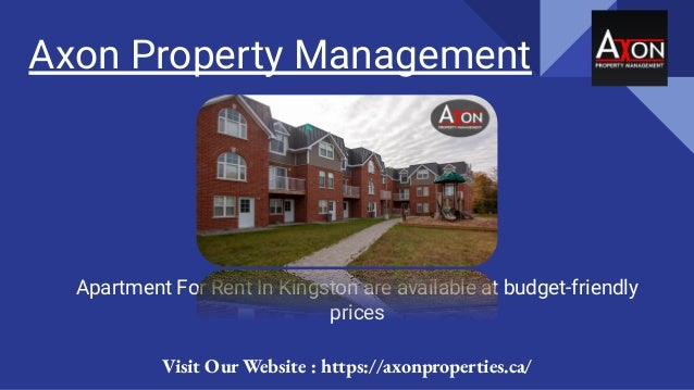 Axon Property Management Apartment For Rent In Kingston are available at budget-friendly prices Visit Our Website : https:...