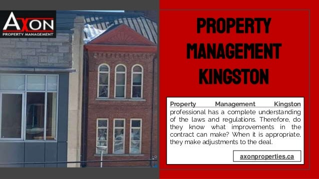 Property Management Kingston professional has a complete understanding of the laws and regulations. Therefore, do they kno...