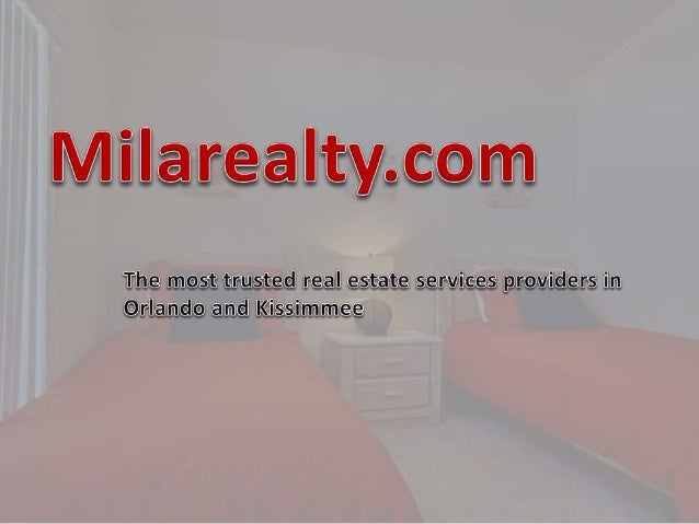Low Commission Realtor Orlando •We are #1 property management companies in FL. Call us on 1-407-494-6018for brokerage in O...