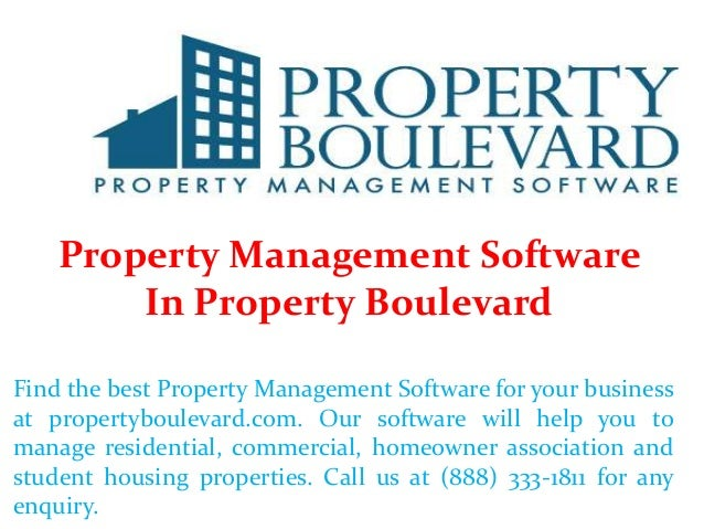 Property Management Software In Property Boulevard Find the best Property Management Software for your business at propert...