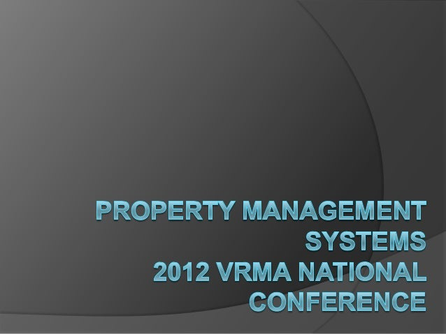 PMS utilized by VRMA National Conferenceattendees    30    25    20    15    10     5     0        Based on Vacation Rent...