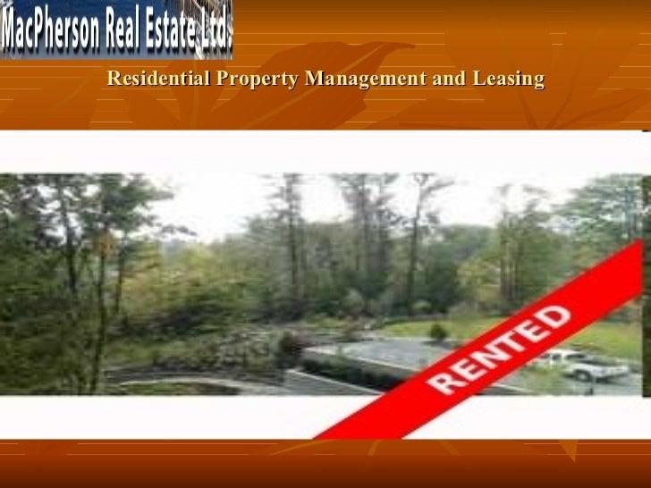 Commercial Property Management Companies Vancouver Bc