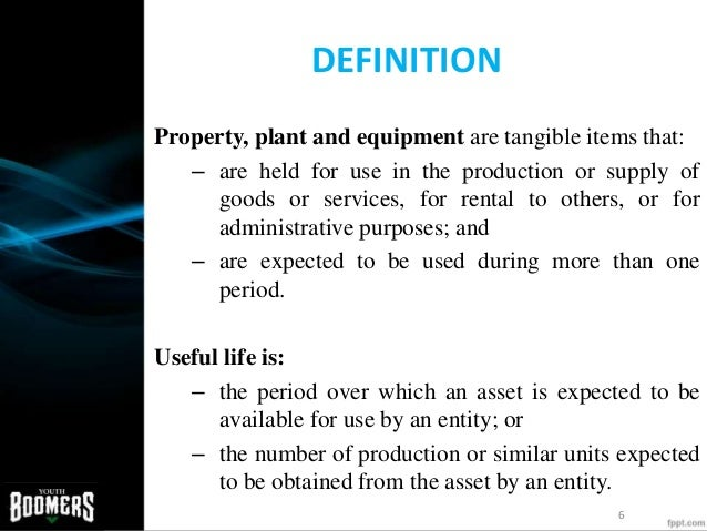 property plant and equipment This month's article on international financial reporting standards is by lisa mladenovic, ca, a independent consultant specializing in ifrs transition services, financial reporting and process improvement she is also the presenter of our upcoming webinar ifrs - property, plant and equipment one .