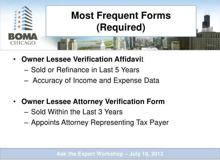Illinois Property Tax Deadlines