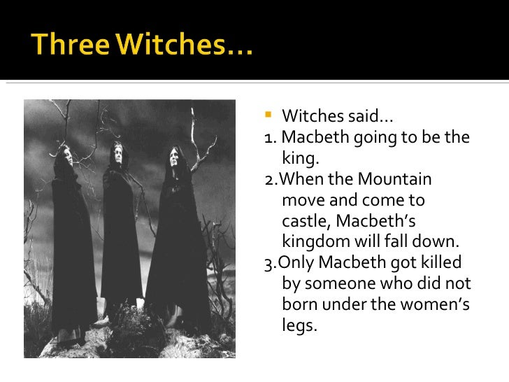 what are the witches prophecies in macbeth